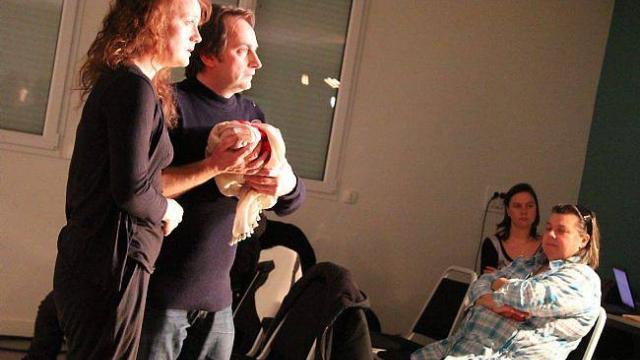 Ouest-France Flers 21 janvier 2014, Le théâtre s'invite dans les quartiers
