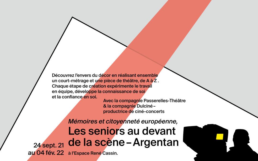 Les seniors au devant de la scène, Argentan / Mémoires et citoyenneté européenne